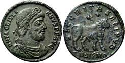 Ancient Coins - JULIAN II AE1 (Double Maiorina). EF+/EF. Sirmium mint. Bull - SECVRITAS REI PVB.