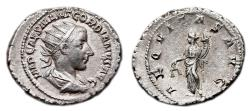 Ancient Coins - GORDIAN III AR Antoninianus. EF-. Rome mint. AEQVITAS AVG