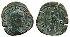 Ancient Coins - PHILIP I the Arab AE Sestertius. VF. ANNONA AVGG