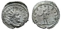 Ancient Coins - POSTUMUS AR Antoninianus. VF+. Lugdunum mint. P M TR P COS II P P - Emperor.