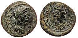 Ancient Coins - STRATONICEA (Lydia) AE18. Hadrian. VF+/EF-. Senate.