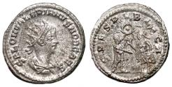 Ancient Coins - SALONINUS AR Antoninianus. EF. Samosata mint. SPES PVBLICA.