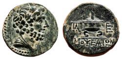 Ancient Coins - MOPSOS (Cilicia) AE20. EF. Zeus - Lighted altar.