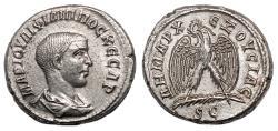 Ancient Coins - PHILIP II AR Tetradrachm. EF. Naked bust. Eagle. QUALITY!