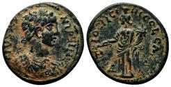 Ancient Coins - ANTIOCH of PISIDIA AE23. Caracalla. EF-/EF. Tyche.