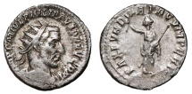 Ancient Coins - PHILIP I the Arab AR Antoninianus. VF+. Unknown Eastern mint. PAX FVNDATA CVM PERSIS. Scarce!