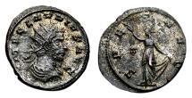 Ancient Coins - CLAUDIUS II GOTHICUS Antoninianus. EF-. Siscia mint. SPES AVG. Scarce.