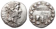 Ancient Coins - MACEDONIA under Roman Rule AR Tetradrachm. EF-. QUAESTOR AESILLAS.