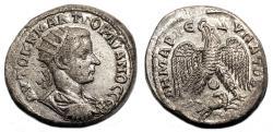 Ancient Coins - GORDIAN III AR Tetradrachm. EF. Antioch mint. Eagle and Ram.