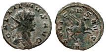 Ancient Coins - GALLIENUS AE Antoninianus. VF+. Pegasus - SOLI CONS AVG.