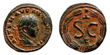 Ancient Coins - ELAGABALUS AE20. EF/EF+. Antioch mint. SC - Wreath.
