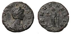 Ancient Coins - SEVERINA Bi Denarius. VF+. VENVS FELIX.