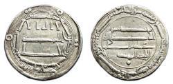 World Coins - AL-MAHDI AR Dirhem. EF. Madinat al-Salam mint. 161 H (A.D. 772)