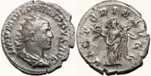Ancient Coins - PHILIP I the Arab AR Antoninianus. EF-/EF. VICTORIA AVGG