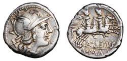 Ancient Coins - GENS AELIA. P. Aelius Paetus AR Denarius. VF+. Dioscuri - P.PAETVS