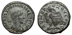 Ancient Coins - HERENNIUS ETRUSCUS AR (low grade) Tetradrachm. VF. Antioch mint. Eagle to left. SCARCE!