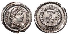 Ancient Coins - VALENS AR Siliqua. EF/EF+. Antioch mint. VOT X MVLT XX.