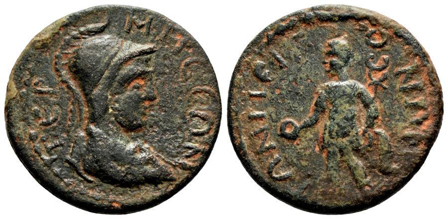 Ancient Coins - TERMESSOS MAIOR (Pisidia) AE24. Pseudo-Autonomous issue. 3rd Century AD. VF+.