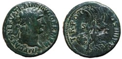 Ancient Coins - TRAJAN AE As. Victory in reverse. VF+/VF. Complete details in both sides.