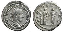 Ancient Coins - TRAJAN DECIUS AR Antoninianus. EF/EF-. PANNONIAE. High Quality!