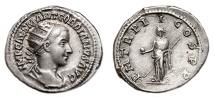 Ancient Coins - GORDIAN III AR Antoninianus. EF/EF-. Antioch mint. Providentia - P M TR P II COS P P. Scarce Issue.