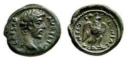 Ancient Coins - ANTIOCH (Pisidia) AE18. Marcus Aurelius as Caesar. EF-/EF. Eagle.