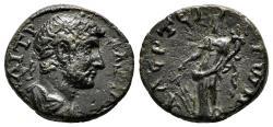 Ancient Coins - LAERTES (Cilicia) AE20. Hadrian. EF-. Tyche.