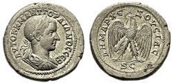 Ancient Coins - GORDIAN III AR Tetradrachm. EF. Antioch mint. Eagle to left.