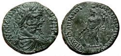 Ancient Coins - MARKIANOPOLIS AE26 (Tetrassarion). Septimius Severus. EF+/EF. Legatus Julius Faustinianus.