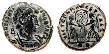Ancient Coins - DECENTIUS AE2 (Maiorina). VF+. Rome mint. Scarce variant: MAG DECENTIVS.