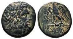 Ancient Coins - DIA (Bithynia) AE20. EF-. Ca. 85-65 B.C. Zeus - Eagle.