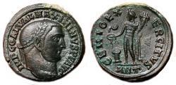Ancient Coins - MAXIMINUS II DAIA AE Follis. EF/EF+. Antioch mint. AD 310-311.