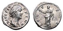 Ancient Coins - FAUSTINA I (Senior) AR Denarius. EF. Ceres - AVGVSTA.