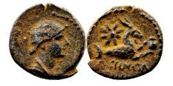 Ancient Coins - AUGUSTA (Cilicia) AE17.  Julia Augusta (Livia). VF+/EF-. Capricorn.