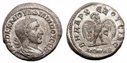 Ancient Coins - PHILIP I the Arab AR Tetradrachm  EF+  Eagle - MON VRB