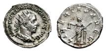 Ancient Coins - TREBONIANUS GALLUS AR Antoninianus. EF. LIBERTAS AVGG.