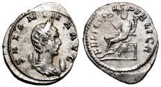 Ancient Coins - SALONINA AR Antoninianus. EF/EF-. Lugdunum mint. FELICITAS PVBLICA.