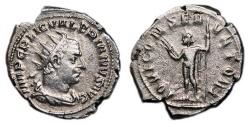 Ancient Coins - VALERIAN I AR Antoninianus. VF+/VF. IOVI CONSERVATORI.