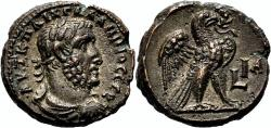Ancient Coins - GALLIENUS Bi Tetradrachm. Alexandria mint. EF+. AD 263/4. Eagle.