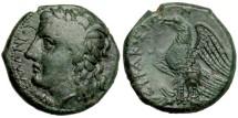 Syracuse, Sicily under Hiketas, 288 - 279 BC, AE20