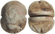 Ancient Coins - Egyptian Scarab with Legs, 1st to 30th Dynasty, c. 3130 BC - 332 BC