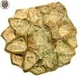 World Coins - Medieval Bronze Sun Appliqué, 1250 - 1500 AD