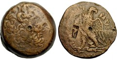 Ancient Coins - Ptolemy IV Philopator, 221 - 205 BC, AE35