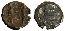 Phoenicia, Sidon Fourree 1/8th Shekel, 4th Century BC.