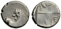 Cherronesos, Thrace, 400-350 BCE, AR Hemidrachm