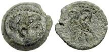 Ancient Coins - Ptolemaic Empire, Ptolemy VI Philometer AE18, 180 - 145 BC