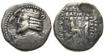 Ancient Coins - Parthian Kingdom, Vardanes I AR Tetradrachm, 38 - 46 AD