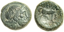 Ancient Coins - Macedon, Ampipholis AE15, 196 - 168 BC