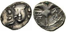Rhodian Peraia, Carian Islands, AR Drachm. 3rd to 2nd century BC