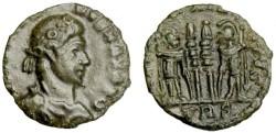 Ancient Coins - Constantius II or Constantine II, 337-361, AE Reduced Nummus